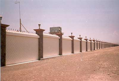 boundary walls design