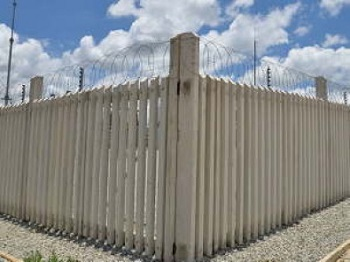 Concrete Palisade is a Modular Fencing System