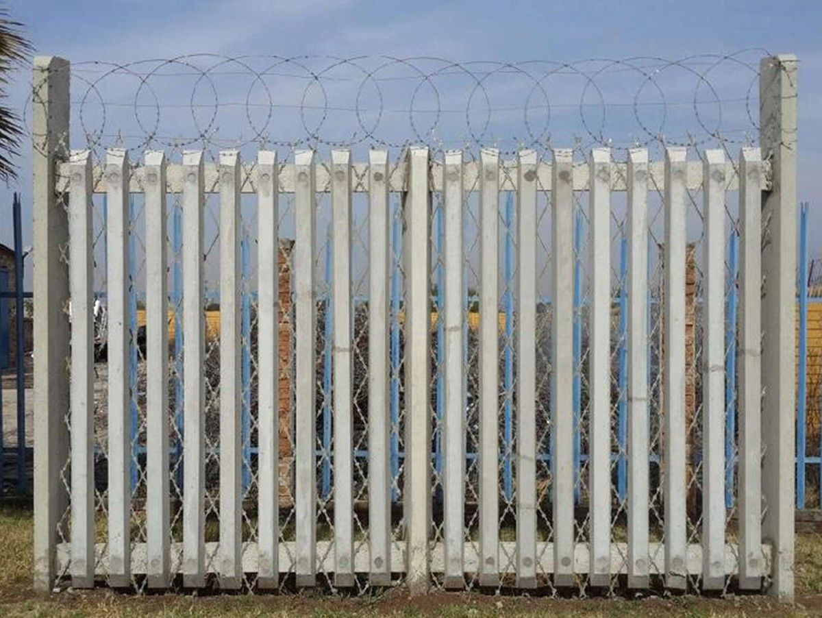 Cww Concrete Palisade Fencing Products