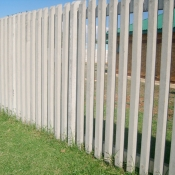 Concrete Palisade Fencing By Counry Wide Walling 2
