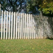 Concrete Palisade Fencing by Country Wide Walling 4