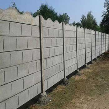 Concrete Security Walls