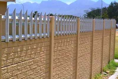 Cww Perimeter Fencing For High Security Protection